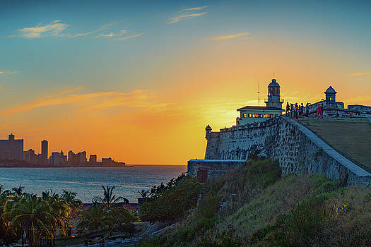 Havana Sunset by Tony Lazzari
