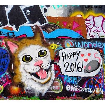 Have A Catty, I Mean #happy by Austin Tuxedo Cat