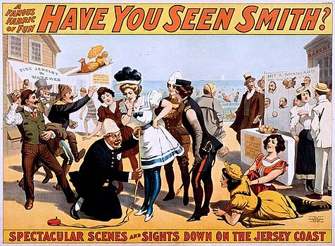 Have you seen Smith? Broadway poster 1898 by Vintage Printery