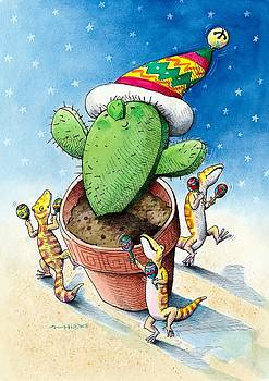Have Yourself a Merry Little Cactus by Mark A Hicks