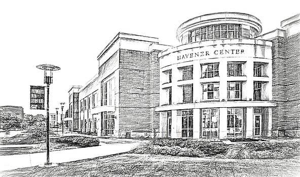 Nikolyn McDonald - Havener Center - Sketch - Missouri University of Science and Technology