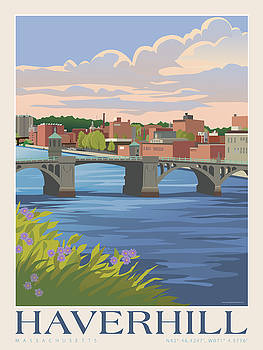 Haverhill Massachusetts by Leslie Alfred McGrath
