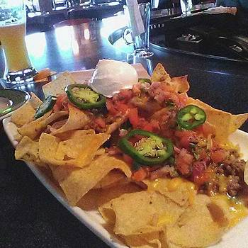 Having A Few Beers.. And These #nachos by Elysha Perry