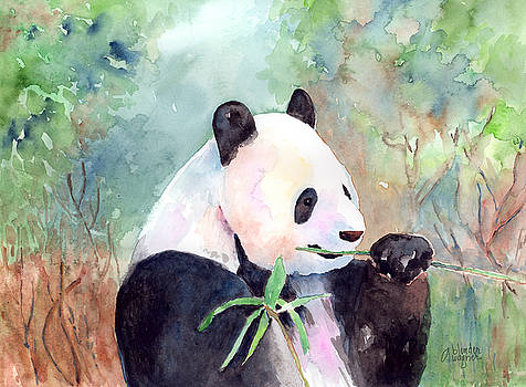 Having A Snack by Arline Wagner