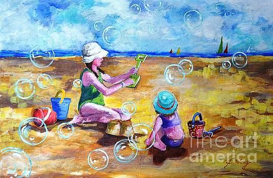 Childhood  #2 by Betty M M Wong