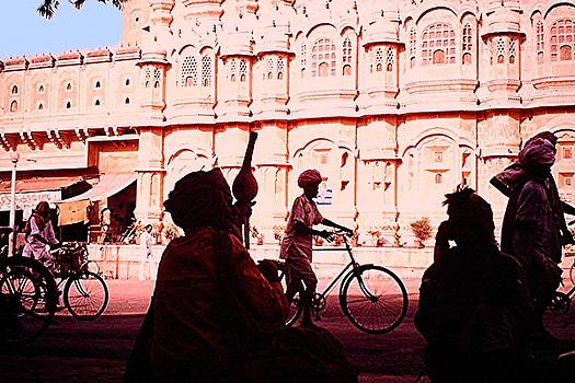 Hawa Mahal, Jaipur by Barron Holland