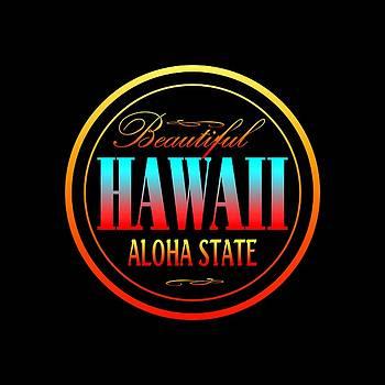 Art America Gallery Peter Potter - Hawaii Aloha State Design
