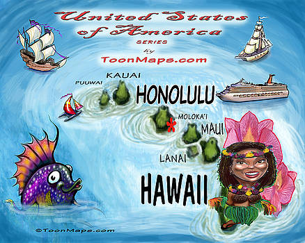 Kevin Middleton - Hawaii Fun Map