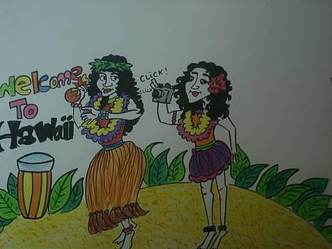 Hawaii girls by Aditi Laddha
