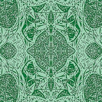 Hawaii Plant Series - Green by William Braddock
