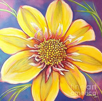 Hawaiian Dahlia by Sandra Lett