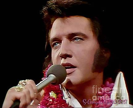 Hawaiian Elvis Presley by Scott Ashgate