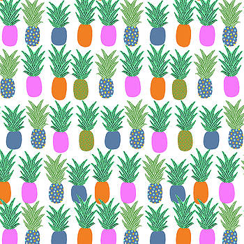 Hawaiian Pineapple by May Leong
