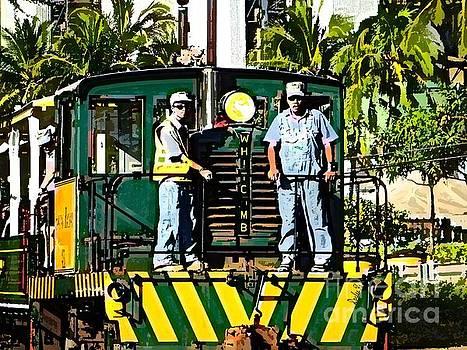 Hawaiian Railway by Dorlea Ho
