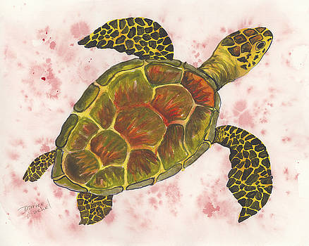 Darice Machel McGuire - Hawaiian Sea Turtle 4