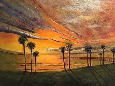 Hawaiian Sunset by John Latterner
