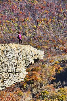 Dennis Cox WorldViews - Hawksbill Crag in Autumn