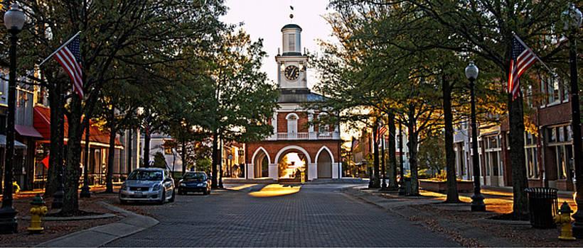 Hay Street and Market House in Fayetteville by Matt Plyler