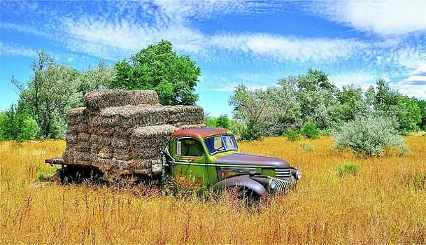 Hay Truck by Mark Lemon