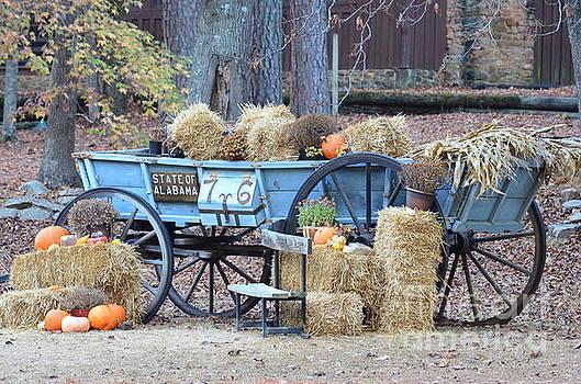 Maria Urso - Hay Wagon of Tannehill Park