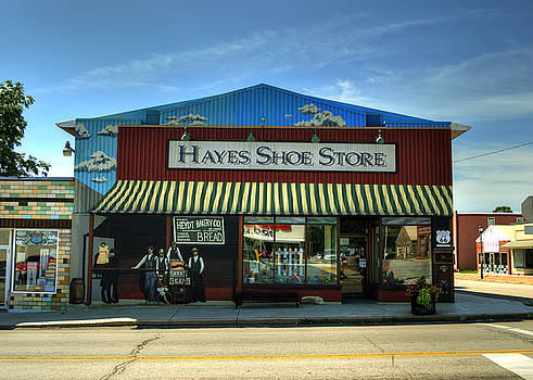 Hayes Shoe Store by Darin Williams