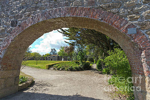Hayle Foundry Grist Mill Garden by Terri Waters