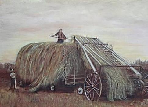 Hayloader by Clara  Bierman
