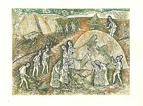 Haymaking by Milen Litchkov