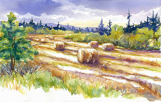 Peggy Wilson - Hayrolls In The Field