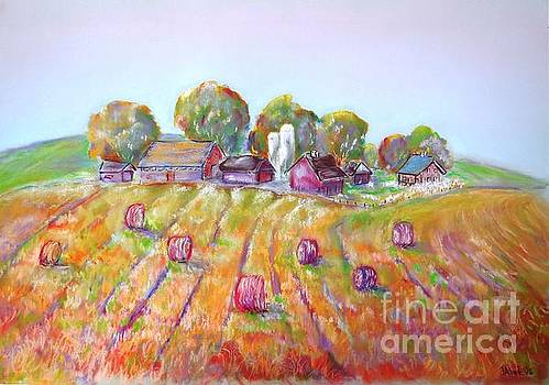 Haystacks by Janice Abel
