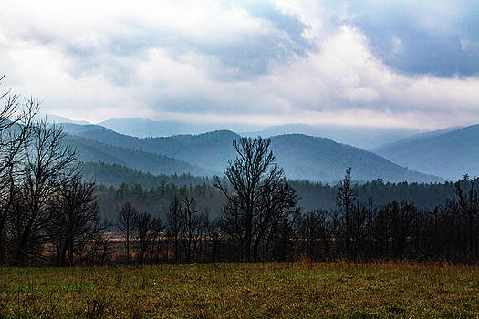 Haze in Smoky Mountains by Carol Mellema