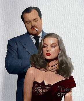 John Springfield - Hazel Brooks and William Conrad, Hollywood Stars