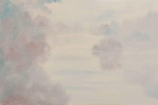 Hazy Autumn Morning by David Snider