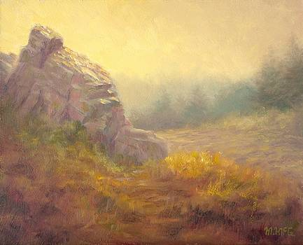 Hazy Morning Forth Mountain by Michael McGuire