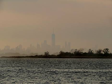 Hazy New York by Jonathan Sabin