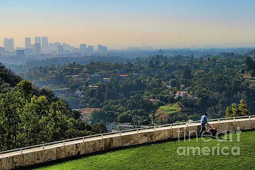 Hazy Summer Days of LA by Norma Warden