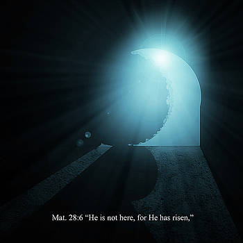 He Has Risen by David Simons