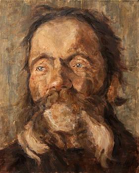 Head of an old Man by Darko Topalski