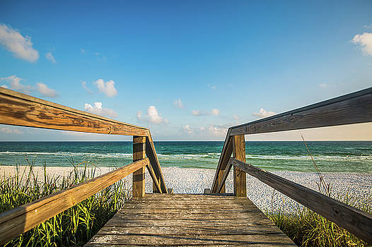 Head to the Beach - Summer Fun Awaits Near Destin Florida by Sean Ramsey