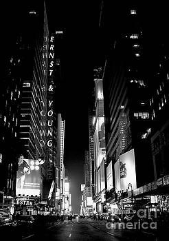 Headed toward Times Square by Lilliana Mendez
