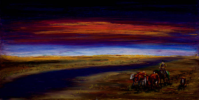 Heading Home by Laurie Tietjen