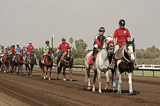 Heading Towards the Starting Gates by Mark Hendrickson