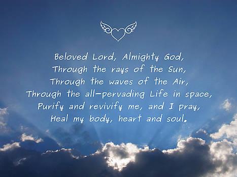 Healing Prayer by Agnieszka Ledwon