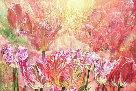 Healing Tulip Garden 2 by Carol Cavalaris