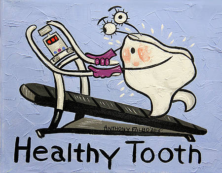 Healthy Tooth by Anthony Falbo