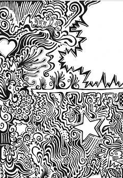 Mandy Shupp - Heart and Star abstract