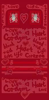 Heart Art by Julia Woodman