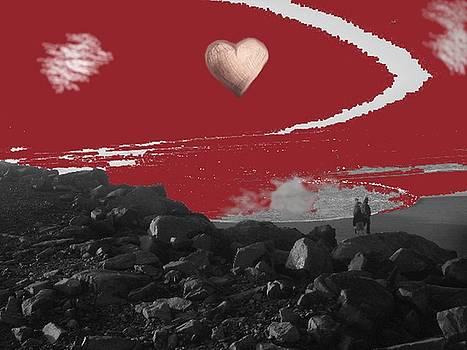 Heart Beach  by Marta Mannenbach