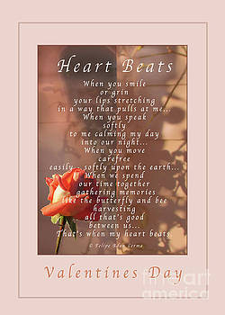 Felipe Adan Lerma - Heart Beats Greeting Card and Poster