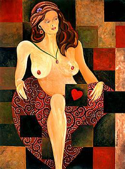 Heart Between Her Legs by Leslie Marcus